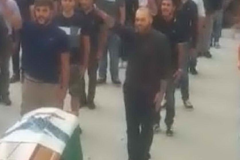 Funerale di Todini a Sassari, 23 a processo per il saluto romano