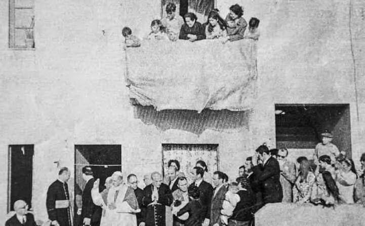 Papa Montini nel quartiere Sant'Elia