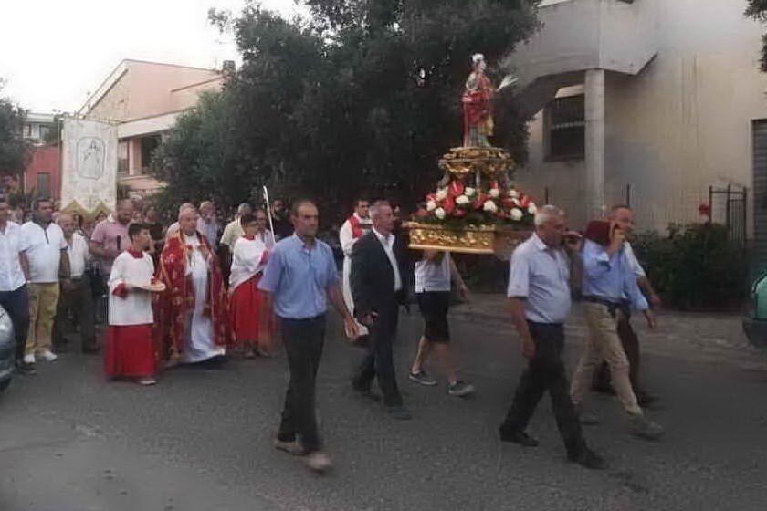 Sinnai, tre messe per celebrare Santa Barbara