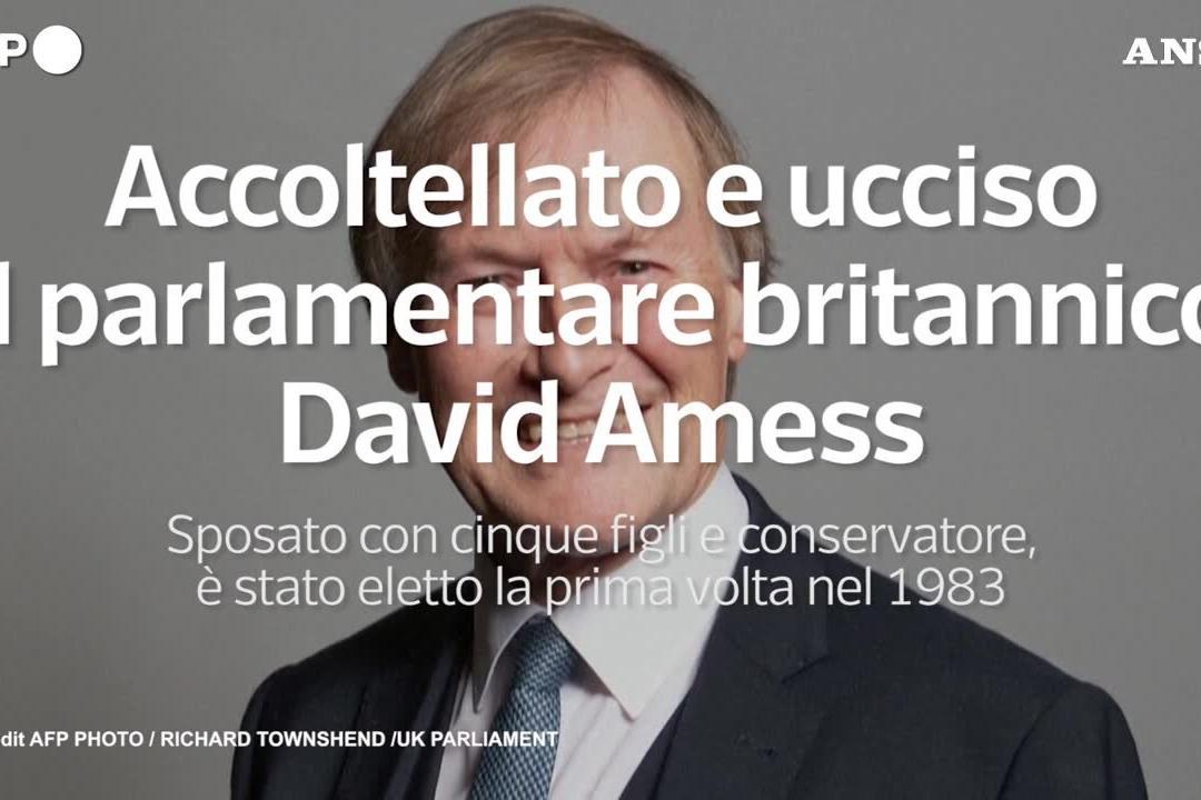 Accoltellato a morte il parlamentare inglese David Amess