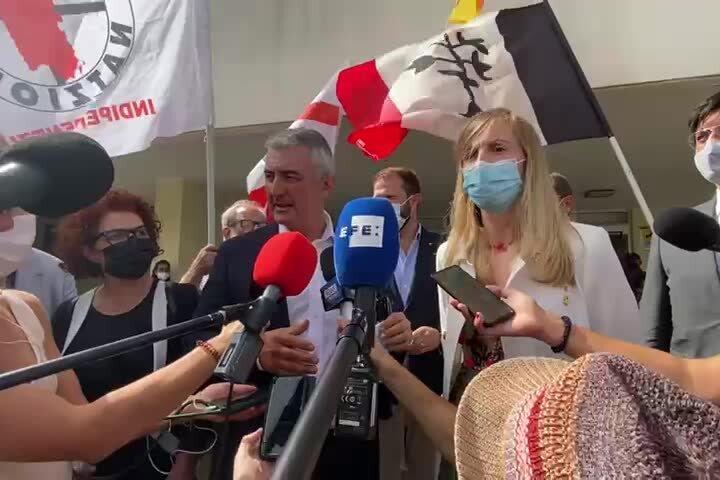 """Il sindaco di Alghero: """"Solidarietà a Puigdemont e a tutti i catalani"""""""