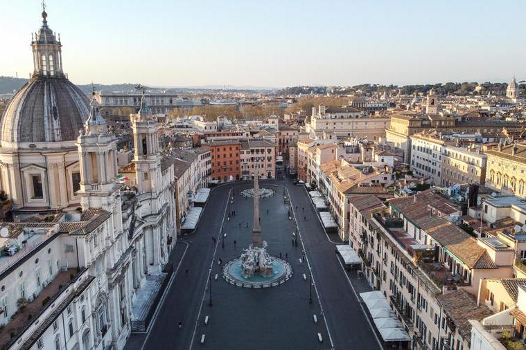 """L'annuncio di Draghi: """"Ilgoverno candiderà Roma per l'Expo 2030"""""""