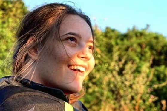 Marika, la libertà in sella a una moto