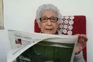 I 100 anni di tzia Maria Manca