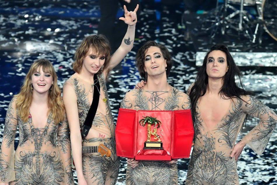 Maneskin: ecco chi sono i vincitori di Sanremo