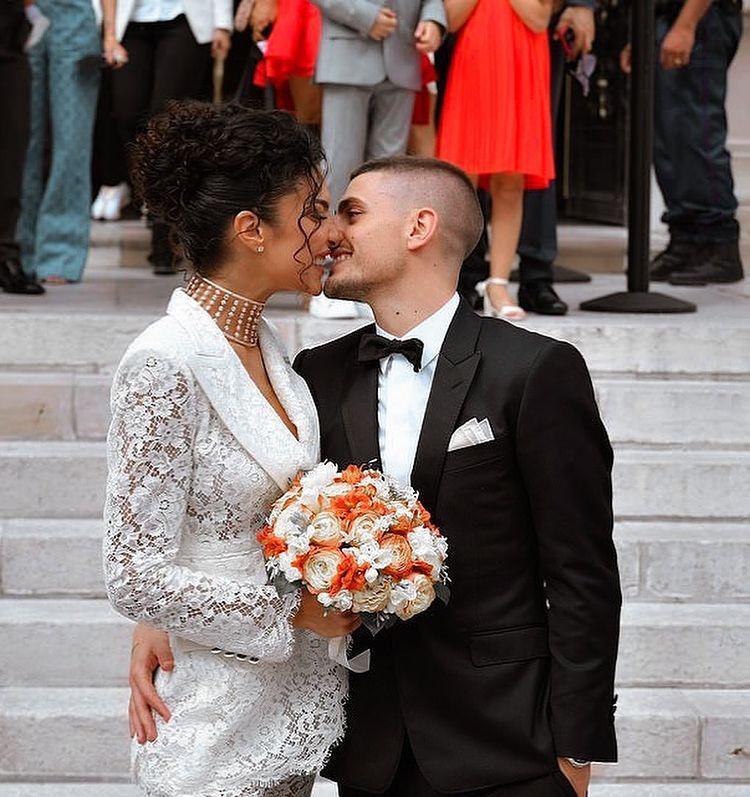Un'altra immagine della coppia (foto da Instagram @galleryverratti )