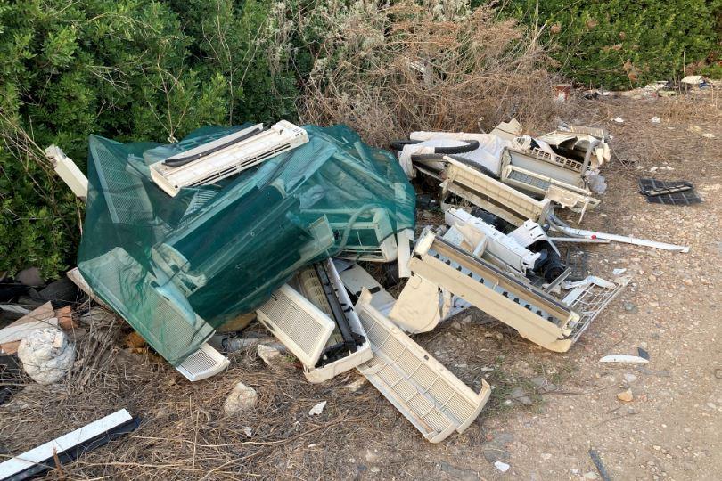 Porto Torres, rifiuti tossici a Ponte Pizzinnu: sulle tracce degli incivili