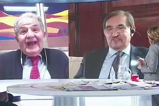 """Prodi vs La Russa sull'Euro: """"Non c'è niente da fare, lei non capisce"""""""