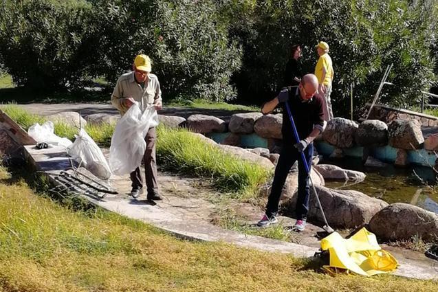 Giornata dell'ambiente a Sinnai: raccolti quintali di rifiuti