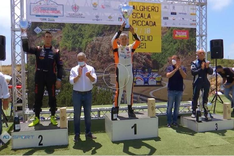 Alghero-Scala Piccada: podio tutto siciliano nella gara di velocità in salita