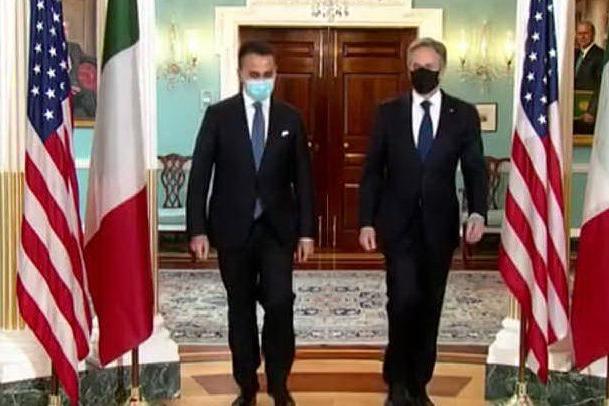 Di Maio negli Stati Uniti: focus su Libia, clima e pandemia