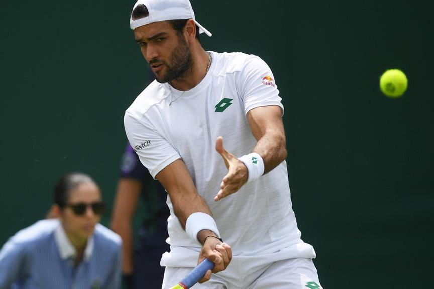 Wimbledon:due azzurri agli ottavi, non succedeva dal '55. Sono Berrettini e Sonego