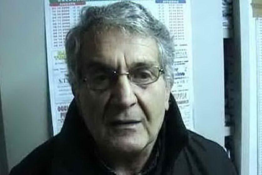 Nino Cuccu allenatore del Tonara (foto Antonio Serreli)
