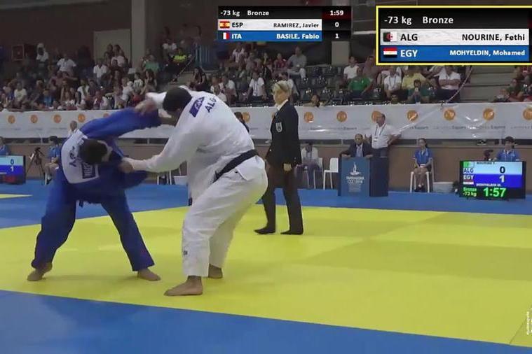 Tokyo, primo caso politico: judoka algerino si ritira per non affrontare un israeliano