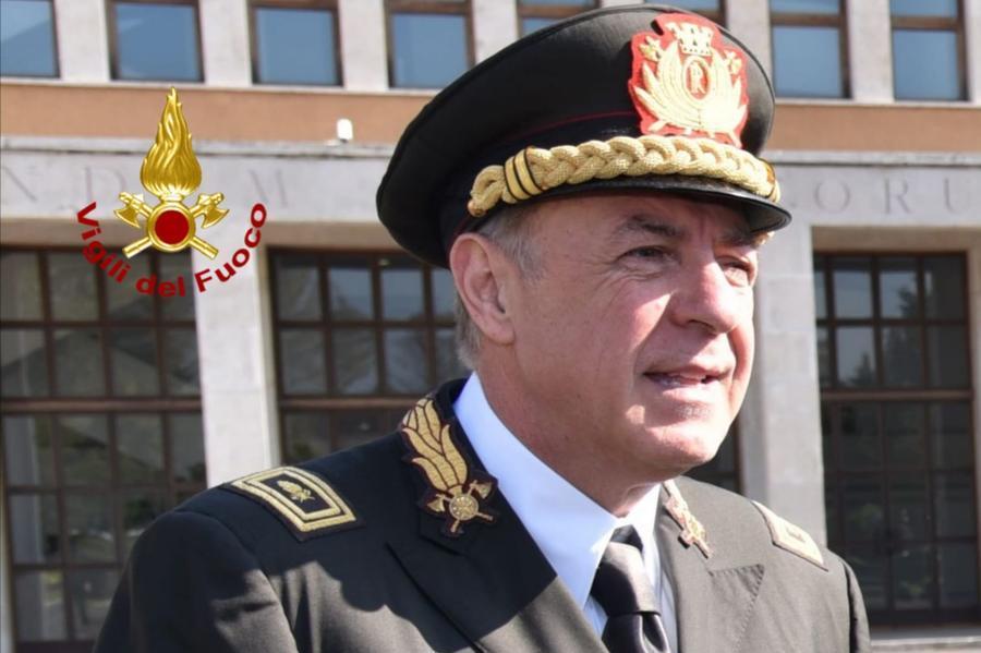 Nuovo comandante per i Vigili del fuoco di Cagliari