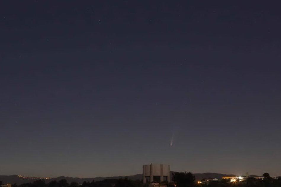 La cometa in timelapse: le splendide immagini dal Margine Rosso