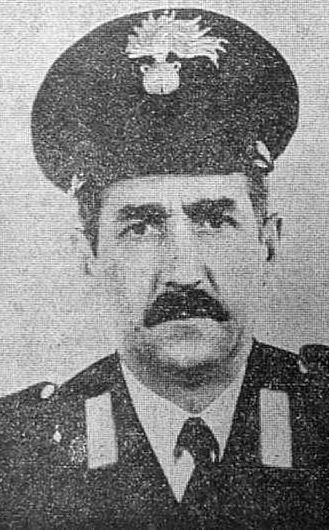 Il carabiniere Santo Lanzafame, assassinato in un agguato dai terroristi sardi nell'agosto 1981