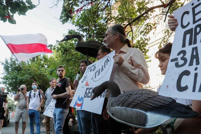 Trovato impiccato a Kiev l'attivista bielorusso Vitaly Shishov