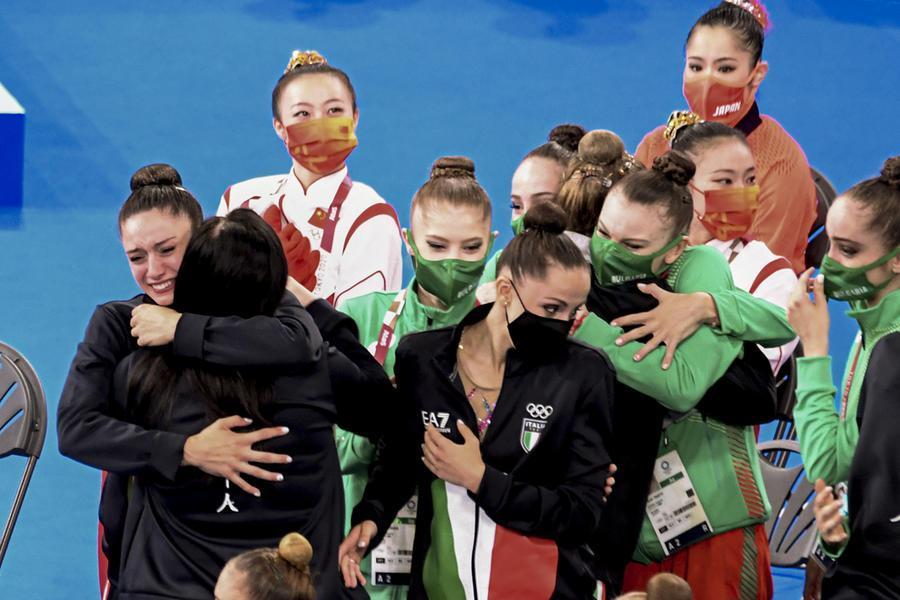 Un'altra medaglia per l'Italia: è il bronzo delle Farfalle