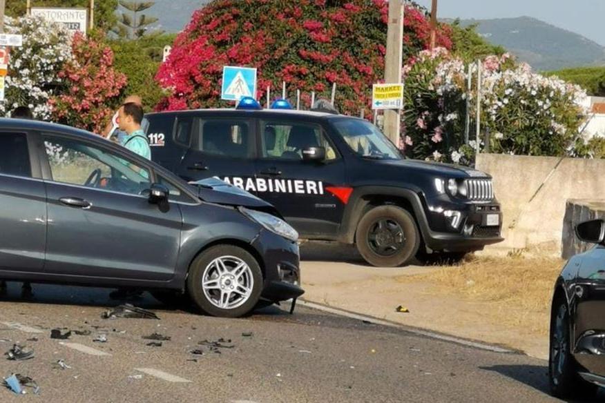 L'incidente (L'Unione Sarda - Pala)