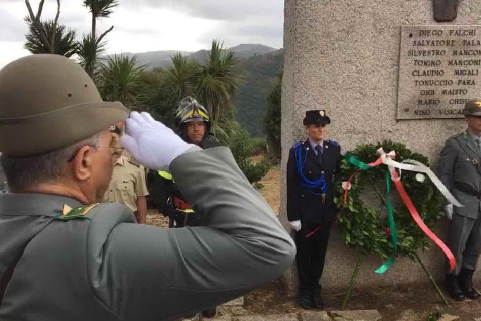 Tempio, il ricordo delle vittime del rogo di Curraggia
