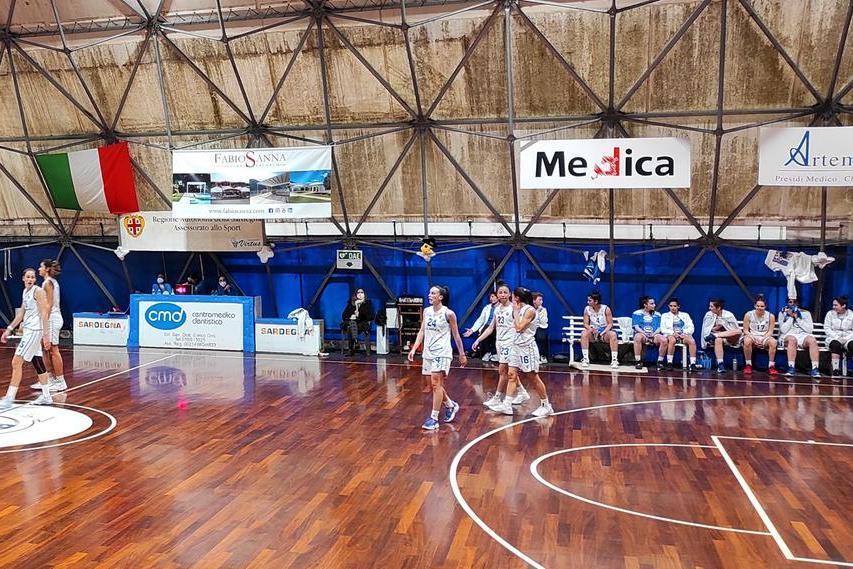 Basket B femminile, la Virtus conferma Lussu e Brunetti