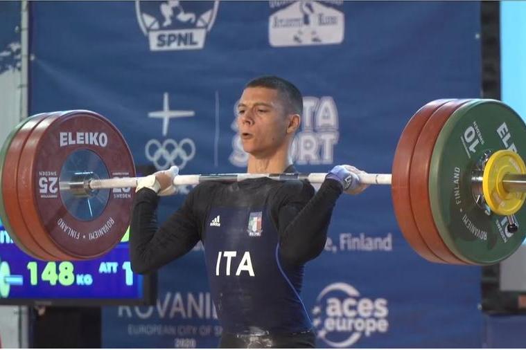 Pesi, Sergio Massidda campione europeo juniores