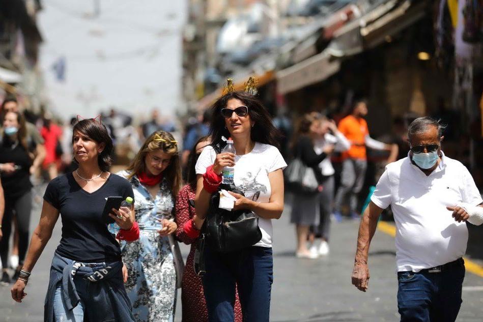 In Israele cade l'obbligo di mascherina all'aperto