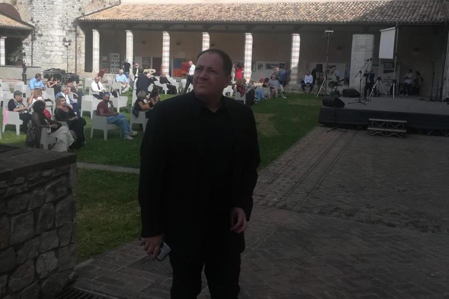 Roberto Deriu vince il premio per la Letteratura allo Spoleto Festival Art