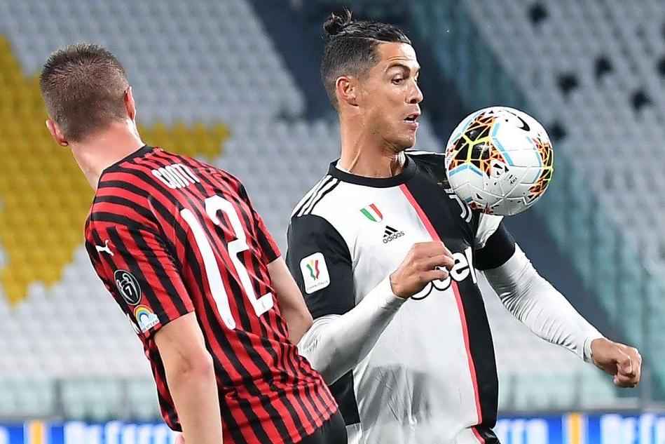 Coppa Italia, con Juve-Milan riparte il calcio