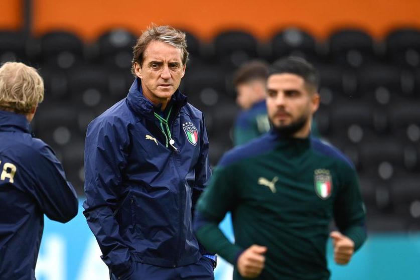 """Mancini vuole la finale: """"Loro sono forti, ma noi giochiamo da Italia"""""""
