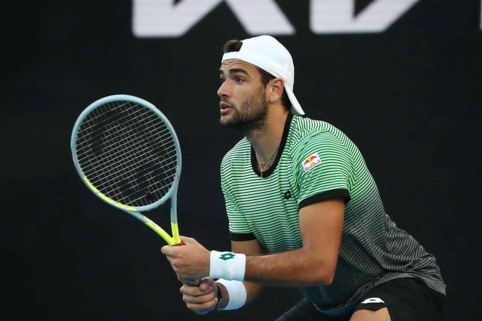 Tennis, Matteo Berrettini a Cagliari