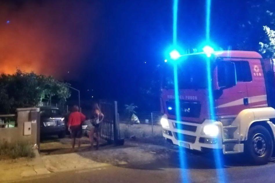 Vigile del fuoco ferito durante un intervento a Lotzorai