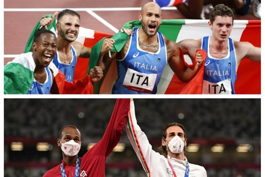 Olimpiadi da record: 40 medaglie per gli azzurri, almeno una al giorno. Le più belle arrivano da Jacobs, Tamberi e 4X100