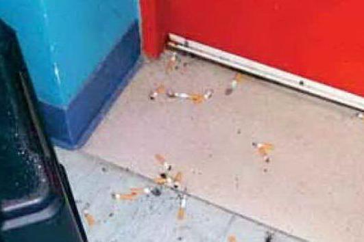 È tutto vero: al Businco si fuma anche vicino ai malati di cancro