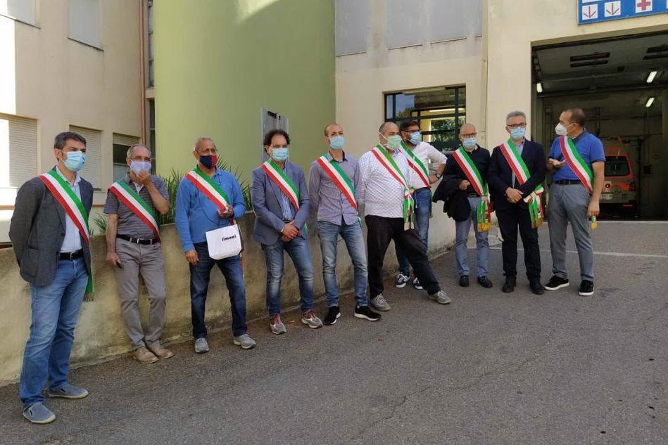 """No al trasferimento di Diabetologia"": San Gavino, la protesta dei sindaci"