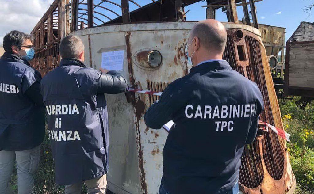 Erano nei depositi delle stazioni di Monserrato, Mandas, Sassari e Macomer