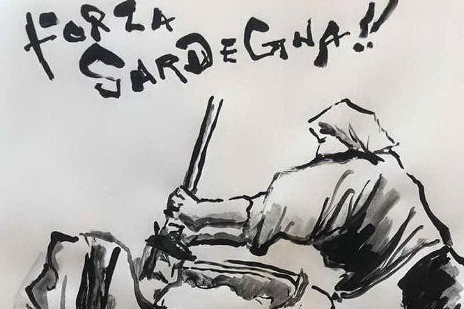 Atsuyoshi Hanazawa, l'omaggio alla Sardegna dall'artista cultore delle seadas
