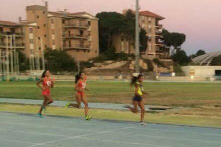 Francesca Serra vince nei 1500. Mario Lagana al quarto posto