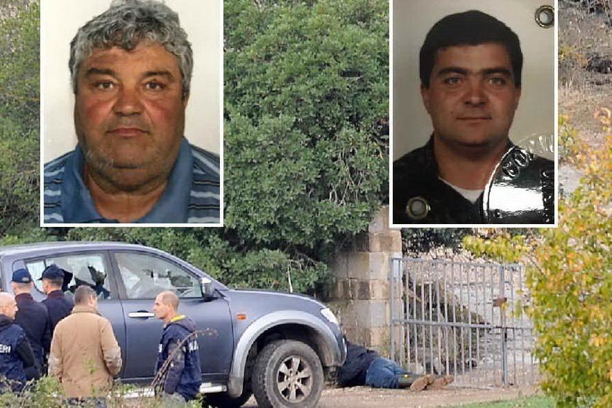 Le vittime: Pierpaolo (a sinistra) e Michelino Piras
