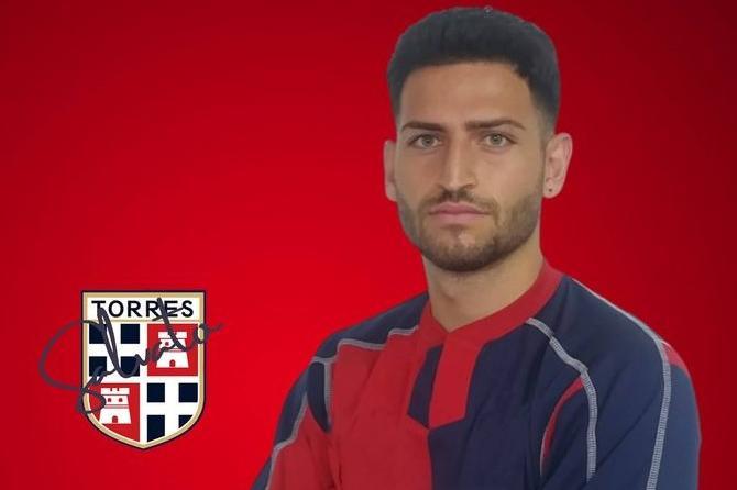 Alessio Salvato, neo acquisto Torres (foto ufficio stampa)