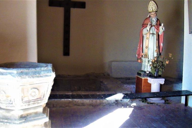 Gesico, fedeli in festa in onore di Sant'Amatore