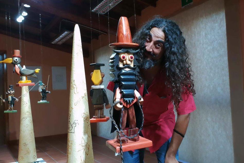 """A Baradili riapre la mostra degli """"amici"""" di Pinocchio"""