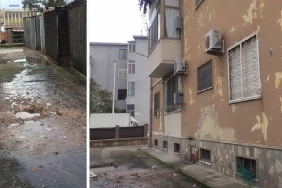 """""""Viviamo coi liquami della fogna sotto la finestra"""": Cagliari, la denuncia dei residenti di via Cornalias"""