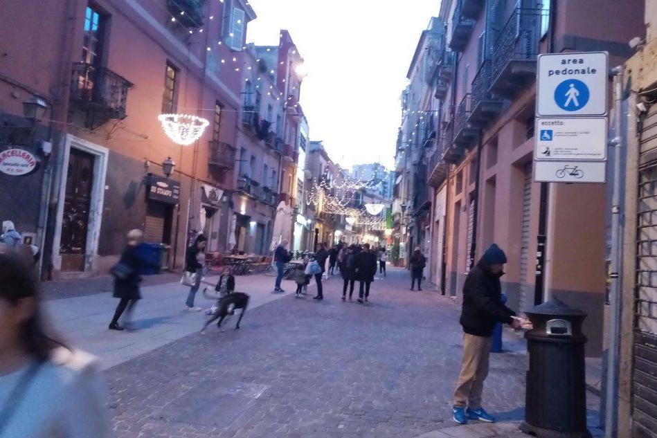 Cagliari, nuove regole in vista per le aree pedonali