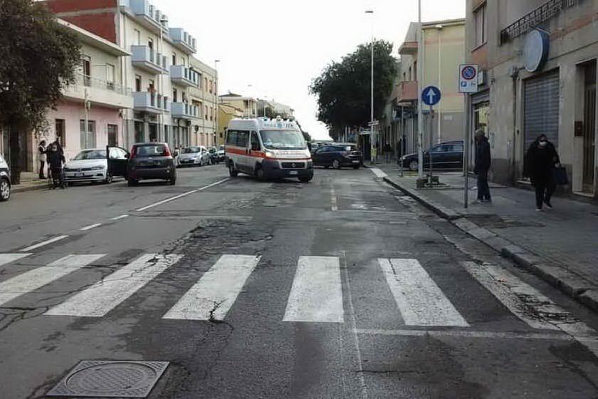 Quartu, è morta la donna travolta da un'auto in via Fiume