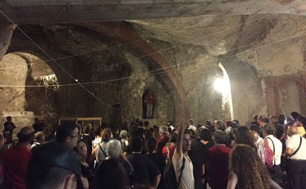 La visita ai sotterranei