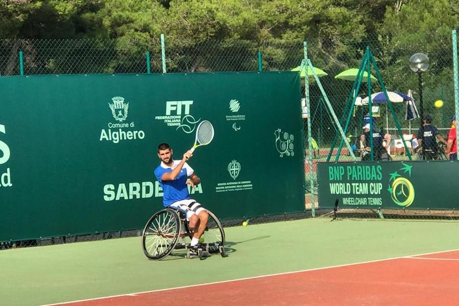 Alghero, al Mondiale di Tennis in carrozzina Italia battuta dall'Argentina