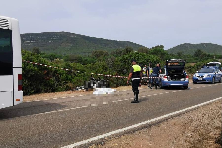 Il luogo dell'incidente (L'Unione Sarda - Calvi)