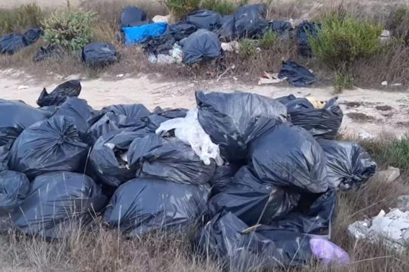 Barracelli in azione a Porto Torres: 5 discariche abusive e maxi multe